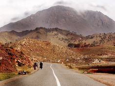 One way to the mountains,Morocco!
