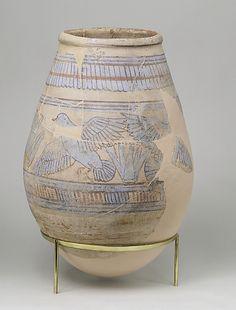 Blue-painted Jar from Malqata
