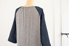 Raglan Shirt Dress-purl bee