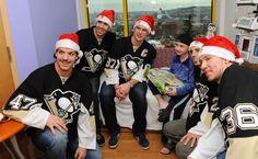 Pittsburgh Penguins Children's Hospital Visit - 12/20/2013 - Pittsburgh Penguins - Photos