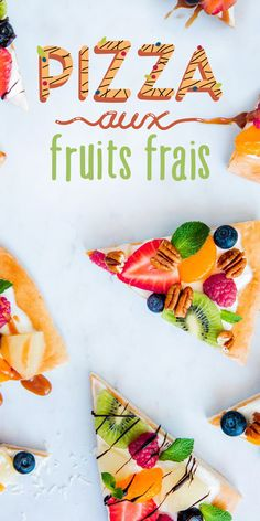 Dessert Aux Fruits, Dessert Drinks, Pizza Dessert, Cooking Recipes, Healthy Recipes, Cold Meals, Summer Recipes, Smoothie Recipes, Food Inspiration