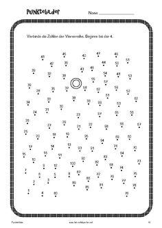Punktebilder zum Einmaleins