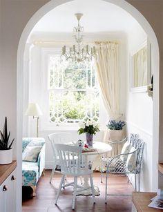 ACHADOS DE DECORAÇÃO: Pequeno Apartamento Inglês: decoração simples e agradável
