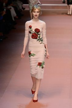 A look from Dolce & Gabbana's fall 2015 show. Photo: Pietro…