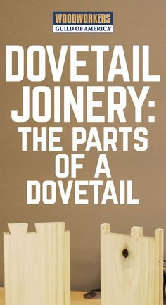 Learn to speak the language of dovetail joinery. Dovetail joinery represents the pinnacle of craftsmanship for many woodworkers, and at some point in our pursuit of the craft, most of us feel the urge to try our hand at creating these interlocking masterpieces. Before scribing the first line or making the first cut, it is important to understand the anatomy of dovetail joinery, so that we can establish a good knowledge that can help us as we design and execute this joint with precision.