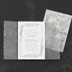 Occasions to Blog: Winter Wedding Invitations from Occasions In Print (Invitation Link - http://occasionsinprint.carlsoncraft.com/Wedding/Shop-All-Wedding/1080-WRN7880-Glittering-Details--Invitation.pro)