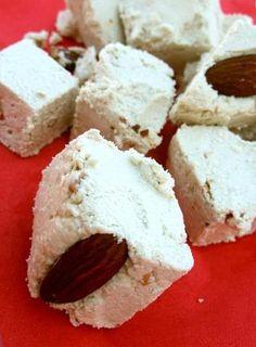 Ħelwa tat-Tork (nut studded sesame seed and sugar halva)