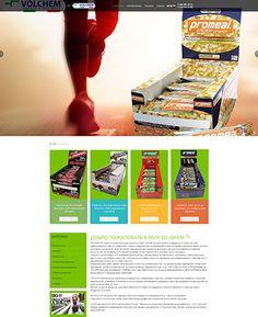 """Примеры работ. Сайт компании """"Volchem""""Страница сайта:Страница сайта:Страница сайта:Страница сайта: Поделиться:..."""