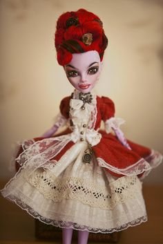 Operetta Monster High. I really like the old fashion dress to make it look like she is in the 1800's!
