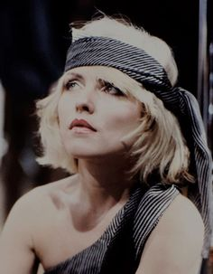forever-blondie: Debbie Harry on the set of 'Heart of Glass' - 1979