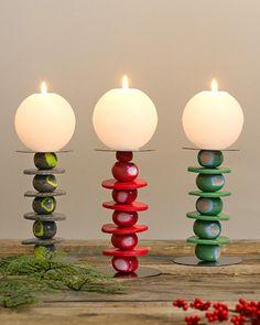 Quando per i lavori creativi si propone il tema delle candele, si pensa sempre a come farle. Questa volta invece vogliamo proporti di realizzare un candelabro. Tutto quel che ti occorre sono diversi tipi di FIMO® e tanto entusiasmo!