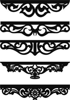 Discover recipes, home ideas, style inspiration and other ideas to try. Curtain Patterns, Stencil Patterns, Curtain Designs, Stencil Designs, Cnc Cutting Design, Laser Cut Panels, Wood Carving Designs, Scroll Saw Patterns, Decorative Panels