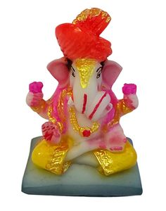 Look this orange color Pagri Ganesha statue for your home to create spiritual environment By @ReturnFavors http://www.returnfavors.com/orange-pagdi-shree-ganesha-statue-by-returnfavors/