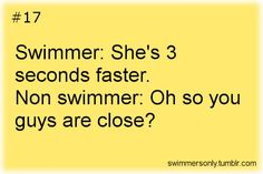 Oh how I miss swimming. One day I will return to the pool. Swimming Funny, I Love Swimming, Swimming Diving, Scuba Diving, Swimmer Quotes, Pool Quotes, Ocean Quotes, Swimmer Girl Problems, Olympic Gymnastics