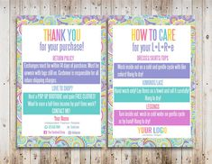 # lularoe Custom Care Cards Home Office Compliant Design Vistaprint Thank You Care Cards Thank You Cards Printable Care Cards Template Lularoe Business Cards, Cool Business Cards, Custom Business Cards, Thank You Card Design, Thank You Cards, Online Print Shop, Printable Cards, All The Colors, Your Cards