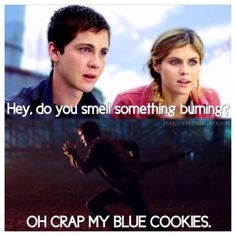 OH CRAP MY BLUE COOKIES!