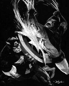 Wolverine V Cap  by Jason Pearson  Download images at nomoremutants-com.tumblr.com  Key Film Dates   Logan: Mar 3 2017   Guardians of the Galaxy Vol. 2: May 5 2017   Spider-Man - Homecoming: Jul 7 2017   Thor: Ragnarok: Nov 3 2017   Black Panther: Feb 16 2018   The Avengers: Infinity War: May 4 2018   Ant-Man & The Wasp: Jul 6 2018   Captain Marvel: Mar 8 2019   The Avengers 4: May 3 2019  #marvelcomics #Comics #marvel #comicbooks #avengers #captainamericacivilwar #xmen #Spidermanhomecoming…