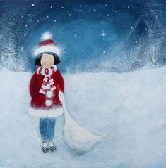 Good Friends  -  Jules @ Juju & Bubba Art & Illustration www.jujuandbubba.co.uk