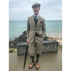"""Being Scandinavian I appreciate the weather changes during the Summer; today the weather was…"" Vintage Men, Vintage Fashion, Plus Fours, Weather Change, Tweed, Britain, Gentleman, Scandinavian, Period"
