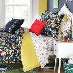 Teen Vogue Folksy Floral Reversible Bedding Collection