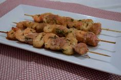 Spiedini di pesce al forno gratinati - Mind Cucina e Gusto