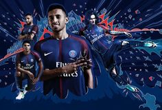 Paris Saint Germain 2017/2018 Home Kit