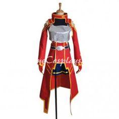Sword Art Online Silica Cosplay Costume
