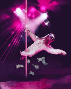 Pole dancing sloth gives me life... • #pole #polefitness #poledancing #polefit #poleaddict #aerial #aerialist #polersofig #unitedbypole #polersofinstagram #poleninja #Polerina #cirque #circus