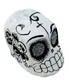 Mini Day of the Dead Hanging Skull