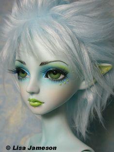 Bobobie Blue Sprite | Bobobie Blue Sprite BJD. Face-up by Pe… | Pepstar's World…