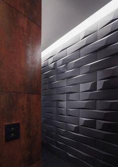 wanddesign geometrisch moderne wohnung von studio 1408