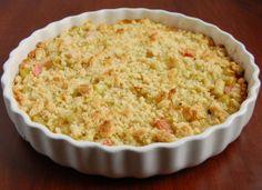 placek z rabarbarem przepis - zjem to blog kulinarny