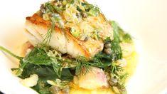 Lise Finckenhagen lager torsk som er overøst med smør fullt av smak.