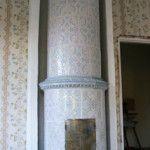 Old tile stove. Sconces, Restoration, Wall Lights, Tile, Google, Home Decor, Gate Valve, Chandeliers, Appliques