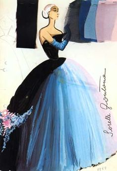 sorelle fontana 1950's. wow beautiful