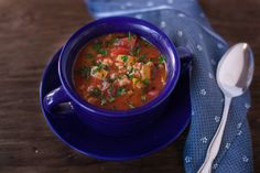 Recipe of the Day: Stuffed Green Bell Pepper Soup