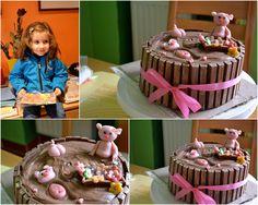 #pigcake #chocolatecake #funcake
