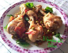 Coscette pollo, in umido