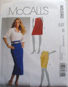 McCall's 5590 Sewing Pattern Misses/Misses Petite by Shelleyville