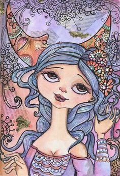 """China e Pastello"" ~ Lidia Gennari."