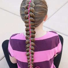 Erin Balogh (@erinbalogh) • Instagram photos and videos 5 Strand Braids, Ribbon Braids, School Today, Photo And Video, Guys, Hair Styles, Videos, Photos, Beauty