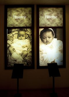 Babies who died during the genocide, Kigali Genocide Memorial Centre, Rwanda. 2 of the 800,000 who were slaughtered.