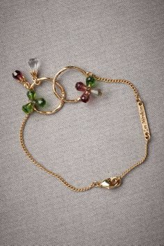 Boysenberry Bracelet - maybe a variation for a necklace...pearls & briolettes. Nice symbolism