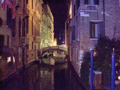 Venice at night. Venice, Italy photo by Katherine Belarmino
