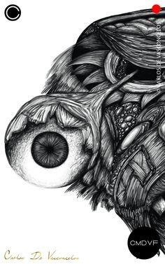 🔴SMBN 0003 - Dibujo Digital.  🔺  #CarlosDeVasconcelos #CMDVF #Ilustración #ArteDigital #Diseño #Arte #Artista #BlancoyNegro #Dibujo / #Illustration #DigitalArt #Design #Art #ArtWork #Artist #BlackAndWhite #bw #bnw #Desenho #Drawing #Ojo #Olho #Eye Illustration, Rings For Men, Animation, Drawings, Artwork, Pictures, Painting, Image, How To Draw Stuff