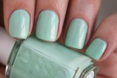 Essie Nail Polish in Fashion Playground: http://beautyeditor.ca/2014/04/25/best-spring-nail-polish-2014/