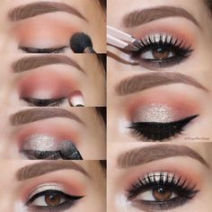 We have collected some eye makeup tutorials that explain you how to achieve a particular look step by step. And they are super easy!