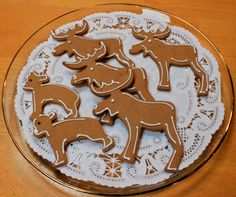 Gingerbread IKEA Cookie Cutter Animal Cookies, Dec 2013