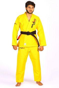 BJJ Gi For Men in Black By Bravo with Preshrunk fabric /& Free White Belt