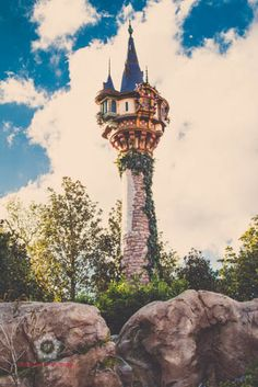 Rapunzel's Tower Disney Photo Digital File by SaraFrankPhotography, $24.00
